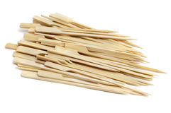 Bamboo skewers Stock Photo