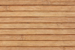 Bamboo slats. Background with copy space Royalty Free Stock Photo