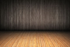Bamboo Slatted Vignetted Background Scenery Stock Images