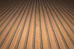 Bamboo Slatted Vignetted Background Scenery Stock Photos