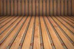 Bamboo Slatted Vignetted Background Scenery Royalty Free Stock Image