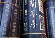 Bamboo slip Royalty Free Stock Image