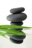 bamboo spa πέτρες Στοκ εικόνα με δικαίωμα ελεύθερης χρήσης