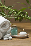 Bamboo in the spa. Stock Photo