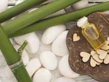 Bamboo spa Royalty Free Stock Image