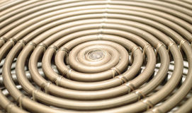 Bamboo spiral abstract and background Stock Photos