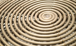 Bamboo spiral abstract and background.  Stock Images