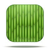 Bamboo Square Icon Vector Stock Images