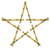 Bamboo Star Royalty Free Stock Photography
