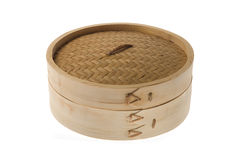 Bamboo steamer Royalty Free Stock Photo