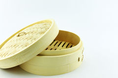 Bamboo steamer Stock Images