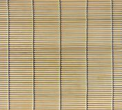 Bamboo stick straw mat royalty free stock photos