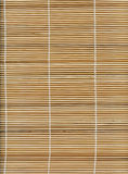 Bamboo stick straw mat texture Royalty Free Stock Photos