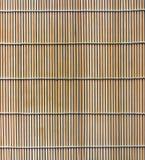 Bamboo stick straw mat texture Stock Image