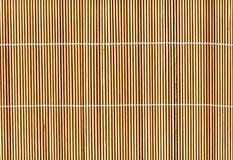Bamboo stick straw mat texture background Stock Photos