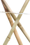 Bamboo sticks Stock Photos