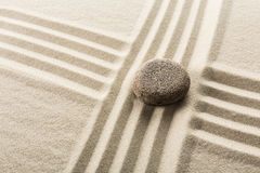 bamboo stones zen 库存图片