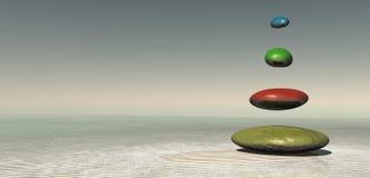 bamboo stones zen иллюстрация штока