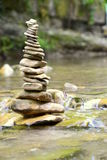 bamboo stones zen Royaltyfri Foto