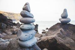 bamboo stones zen Стоковое Фото