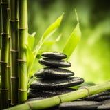 bamboo stones zen Στοκ εικόνες με δικαίωμα ελεύθερης χρήσης