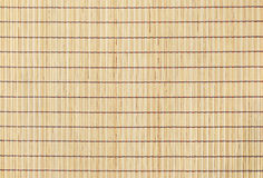 Bamboo straw background top view Stock Photography