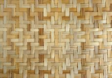 Bamboo or straw weaving. Texture as background royalty free stock image