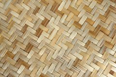 Bamboo or straw weaving. Texture as background stock image
