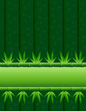 Bamboo Stripe Horizontal Tile Royalty Free Stock Photos