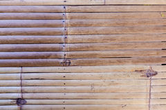 Bamboo striped pattern Royalty Free Stock Image