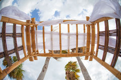 Bamboo structure Royalty Free Stock Photo