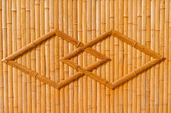 Bamboo structure stock images