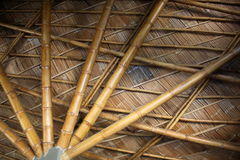 Bamboo Structure in Thailand Stock Image