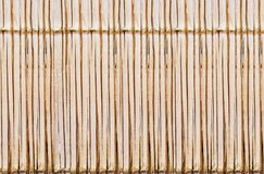 Bamboo style old fence, dirty bamboo surface stock photos