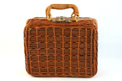 Bamboo suitcase Stock Photos