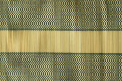 Bamboo table cloth Stock Photos
