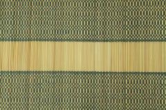 Bamboo table cloth Stock Photos
