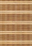 Bamboo table cloth background Royalty Free Stock Photography