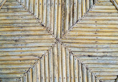 Bamboo. Table in X form royalty free stock photography