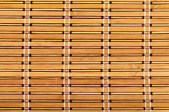 Bamboo table mat Stock Image