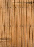 Bamboo table texture Royalty Free Stock Photography