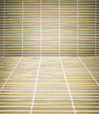 Bamboo table vor the product Royalty Free Stock Photo