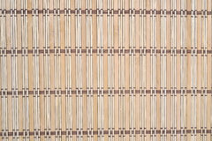 Bamboo tablecloth Royalty Free Stock Photography
