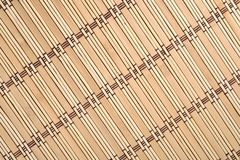 Bamboo tablecloth Stock Photos