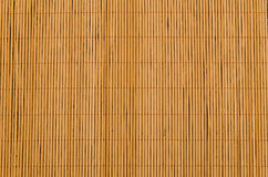 Bamboo tablecloth brown Royalty Free Stock Image