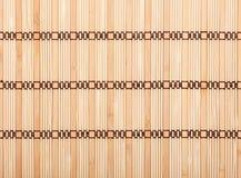 Bamboo tablecloth texture Stock Photo