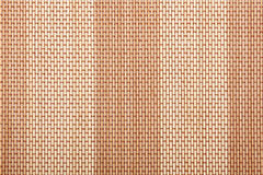 Bamboo tablecloth texture Stock Photos