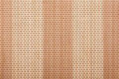 Bamboo tablecloth texture Stock Photos