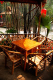 Bamboo tea house Royalty Free Stock Photo