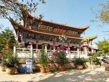 Bamboo temple at Kunming, China Royalty Free Stock Image